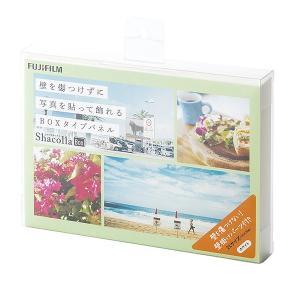 壁タイプアルバム シャコラ ShacollaBox 2Lサイズ ホワイト 富士フィルム|y-sharaku
