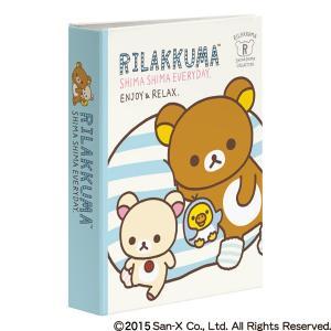 ナカバヤシ 1PKポケットアルバム KG 1段40枚収納 リラックマ B (1PK-40-4-2)|y-sharaku