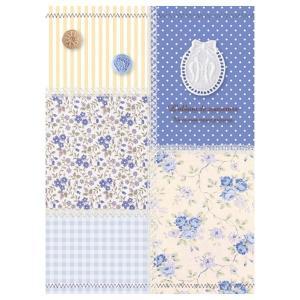 5冊ソフトボックス ポケットアルバム L3段270枚収納 パッチワーク柄 ブルー 5PL-270-31-B ナカバヤシ y-sharaku 02