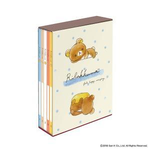 L3段210枚収納 リラックマ キャラクター5冊BOXポケットアルバム ア-PL-1031-10 ナカバヤシ|y-sharaku
