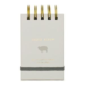 タテ型ポケットアルバム チェキサイズ ヒツジ AWR-CK30-2 ナカバヤシ 受発注商品|y-sharaku