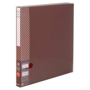 デザインポケットアルバム L判 256枚収納 溶着式 ブラウン DPA-6L-BR ナカバヤシ 受発注商品|y-sharaku