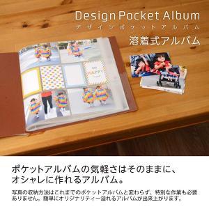 デザインポケットアルバム L判 256枚収納 溶着式 ブラウン DPA-6L-BR ナカバヤシ 受発注商品|y-sharaku|02