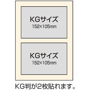 ブック式フリーアルバム 100年台紙 B5サイズ ナチュラルチェック ブルー アH-B5B-172-B ファブリックスタイルシリーズ ナカバヤシ 受発注商品 y-sharaku 03