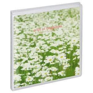 チェキスクエアアルバム Pポケットアルバム NP 89 ましかく(89mm) サイズ 20枚収納 白い花畑 APNP-89-SHB ハクバ 受発注商品|y-sharaku