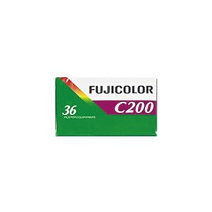 カラーネガフイルム FUJICOLOR C200 36枚撮り 英文パッケージ 1本 富士フイルム|y-sharaku
