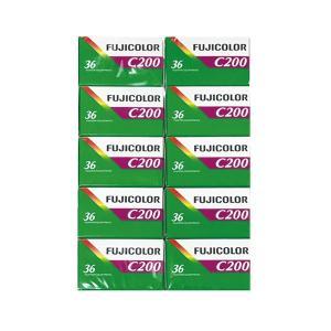 カラーネガフイルム FUJICOLOR C200 36枚撮り 英文パッケージ 10本 富士フイルム|y-sharaku
