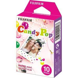 チェキ フィルム instax mini キャンディポップ 1P(10枚) 単品 富士フイルム