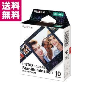 チェキ スクエア用フィルム instax SQUARE スターイルミネーション 1パック 10枚入り 富士フイルム ゆうパケット便 送料無料|y-sharaku