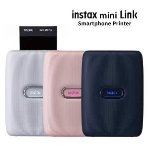 スマートフォン用プリンター チェキ instax mini Link アッシュホワイト・ダスキーピンク・ダークデニム 富士フイルム 送料無料|y-sharaku