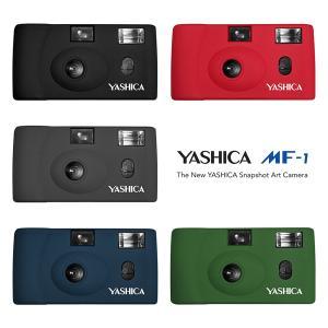 フィルムカメラ 本体 YASHICA MF-1 35mm ブラック レッド グレー プルシアンブルー アーミーグリーン ヤシカ 送料無料|y-sharaku