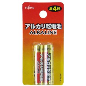 アルカリ乾電池 単4形 2本入 LR03H 2B 富士通|y-sharaku