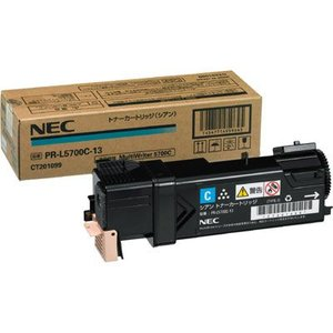 標準トナーカートリッジ シアン NEC MultiWriter PR-L5750C用 PR-L5700C-13 y-sharaku