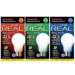 東芝 ネオボールZ 40W リアルA形 電球色 昼白色 昼光色 EFA10EL/7-Z EFA10EN/7-Z EFA7ED/7-Z 在庫限り生産終了|y-sharaku