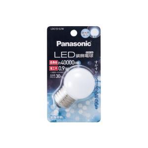 パナソニック LED装飾電球 0.9W 昼光色相当 LDG1DGW|y-sharaku