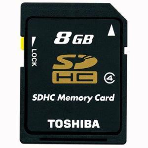 東芝 SDHCメモリカード 8GB|y-sharaku