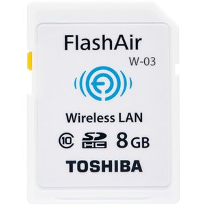 東芝 無線LAN搭載 SDHCカード 8GB Class10 FlashAir SD-WE008G