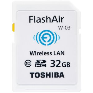 東芝 無線LAN搭載 SDHCカード 32GB Class10 FlashAir SD-WE032G