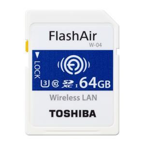 受発注商品 東芝 無線LAN搭載 SDHCメモリカード FlashAir 64GB SD-UWA064G|y-sharaku