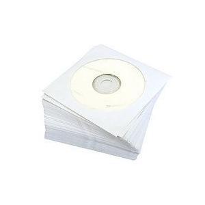紙製 CDケース 100枚入り ホワイト y-sharaku