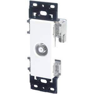 共同受信用直列ユニット 壁面テレビ端子 SH7F1 受発注商品|y-sharaku