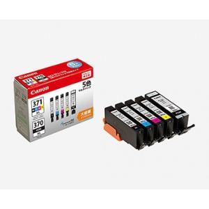Canon キャノン インクタンク BCI-371XL(BK/C/M/Y)+BCI-370XL マルチパック 大容量 BCI-371XL+370XL/5MP|y-sharaku