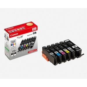 Canon  キャノン インクタンク BCI-351XL(BK/C/M/Y/GY)+BCI-350XL マルチパック 大容量 BCI-351XL+350XL/6MP|y-sharaku