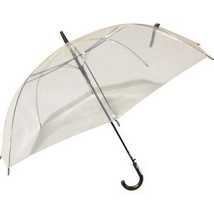 ATジャンプ傘 白色透明 65cm ◆6本セット|y-sharaku