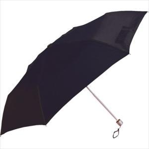 傘 スリムタイプ 三段折傘  50cm 無地 ブラック|y-sharaku