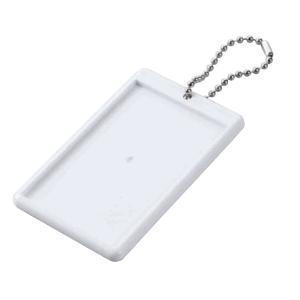 ハメパチ チェキ・ カードサイズ  パスケース CAB-K85P-WH 長方形 85.5×54mm ポイント消化 ゆうパケット便 送料無料|y-sharaku