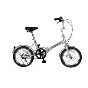 折りたたみ自転車 16インチ FIELD CHAMP365 FDB16 シルバー No.72750 受発注商品 送料無料 代引不可 y-sharaku