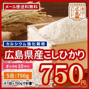 広島県産 カルゲン米 コシヒカリ 900g お試し650円 ...