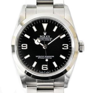 本物 ROLEX ロレックス 114270 エクスプローラー 1 オイスターパーペチュアル 腕時計 ...