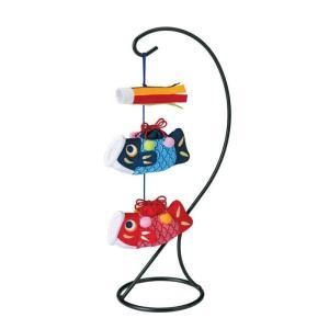 京ちりめん下げ飾り 福ふくこいのぼり LH-132の商品画像|ナビ