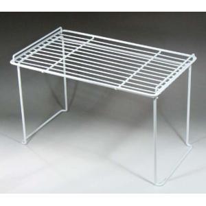 積み重ね棚 大 丈夫 頑丈 スチール製 キッチン シンク 収納 日本製の写真