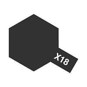 タミヤ タミヤカラー アクリルミニX18セミグロスブラック (光沢) y-sofmap