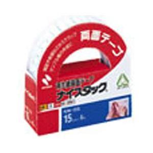 ニチバン [両面テープ] ナイスタック 一般タイプ (サイズ:15mm×6m) NW-15S