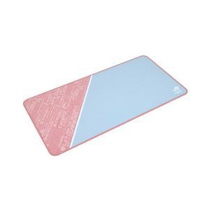 [ピンクカラー]超大型のワイド設計にどこまでも滑らかな表面を持つ究極のゲーミングマウスパッド