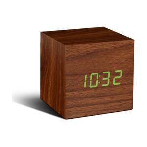 日本ポステック JPT CUBE Click Clock ウォルナット|y-sofmap