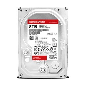 WesternDigital(ウエスタンデジタル) WD Red WD80EFAX バルク品 (3.5インチ/8TB/SATA)|y-sofmap