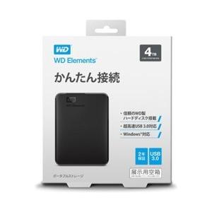 WesternDigital(ウエスタンデジタル) WDBU6Y0040BBK-JESN(ブラック)...