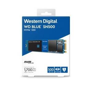 WesternDigital(ウエスタンデジタル) WD Blue SN500 WDS500G1B0C (SSD/M.2 2280/500GB)|y-sofmap