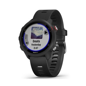 ガーミン(GARMIN) ForeAthlete 245 Music Black Red 010-02120-70 [スマートウォッチモード: 最大7日間 GPS+音楽モード: 最大6時間]|y-sofmap