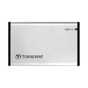 トランセンドジャパン HDD/SSDケース 2.5インチ[USB3.1/SATA・Mac/Win/Linux] StoreJet 25S3 TS0GSJ25S3 シルバー|y-sofmap