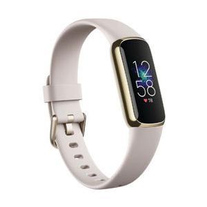 FITBIT Fitbit Luxe フィットネストラッカー ルナホワイト/ソフトゴールド L/Sサイズ   FB422GLWT-FRCJK|ソフマップPayPayモール店