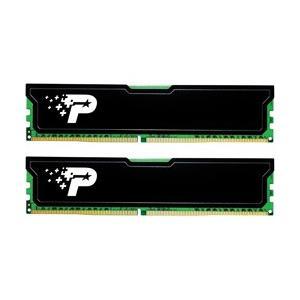 PATRIOT デスクトップ用メモリ DDR4 2666MHz PC4-21300 16GB  8GBx2枚組  CL19 ヒートシンク付 PSD41