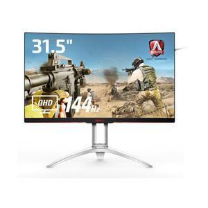 31.5インチワイドの曲面ディスプレイ「AG322QC4/11」は、2560 x 1440のQHD解...