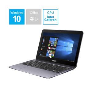 ASUS(エイスース) VivoBook Flip 12 TP203NA 11.6型ノートパソコン Celeron メモリ4GB eMMC64GB Windows10 スターグレー TP203NA-GREY [振込不可] y-sofmap