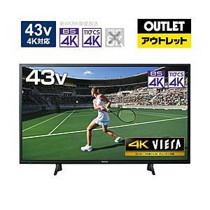 パナソニック 液晶テレビ VIERA(ビエラ) TH-43HX750 [43V型 /4K対応 /Yo...