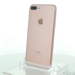 〔中古〕Apple(アップル) iPhone7 Plus 256GB ローズゴールド MN6P2J/A SoftBankロック解除SIMフリー|y-sofmap